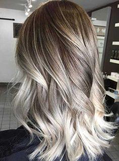 Résultats de recherche d'images pour « ombré blond cendré cheveux court »