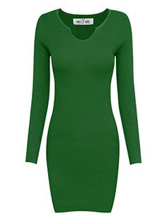 Glam up your going out look in Tom's Ware Womens Casual fitted Package Hip Sweater Dress is very fashional and classic Made by from Tom's Ware Factory Inc  Release your sexy figure in this body hugg...