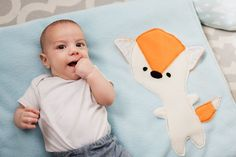 #happyli #happylironLight Blue Baby Blanket with Fox, Cute Stroller Blanket, Fox Blanket for Babies, Winter Blanket for the Crib, Baby Boy Gift, Baby Shower Boy  The most adorable and cute Baby blanket for your baby. It is so soft and cuddly. Available in other colors variation, View all colors here -