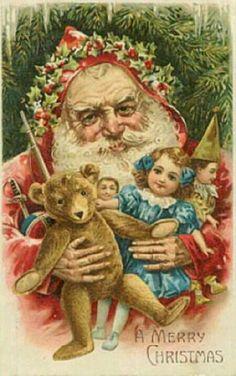 Vintage santa.