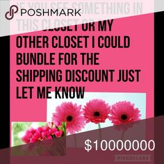Making bundles from my closets You can pick from either closet and I could bundle together for the shipping discount Other
