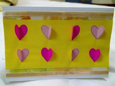 How To Make Valentine's Day Card- Butterfly Hearts