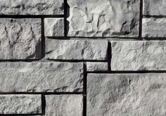 Coronado Stone Products - Ashtar and rubble - country castle, gray - Manufactured stone veneer