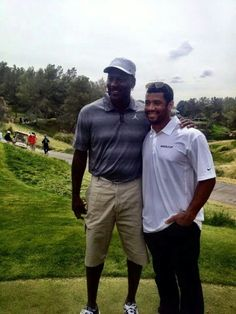 Great like Mike! Michael Jordan and Russell Wilson.