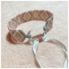Bracelet Patterns, Beading Patterns, Miyuki Beads, Bijoux Diy, Brick Stitch, Fun Crafts, Creations, Artsy, Jewels