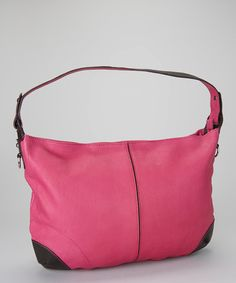 Take a look at this Fuchsia Barbie Doll Shoulder Bag by Nino Bossi Handbags on #zulily today!