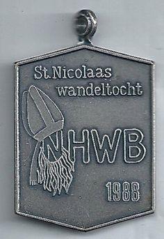St. Nicolaas Wandeltocht 1988. H.W.B. (Hengelose Wandel Bond).