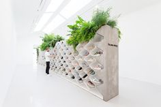 Frame speaks to Flip Ziedses Des Plantes, whose exhibition design for Filling Pieces is now overtaking the footwear brand's retail presence around the world. Modular Structure, Filling Pieces, Modular Walls, Branding, Design Studio, Set Design, Wall Design, House Design, Exhibition Space