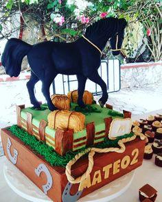 Pastel temático vaqueros y caballos Cupcakes by MJ