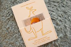 kangaroo baby announcements via Oh So Beautiful Paper