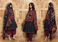 antique complet original Pakistan Afghanistan nuristan kohistan swat Woman embroidered Dress jumlo No:3