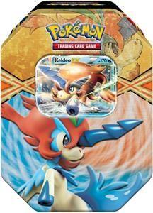 keldio pokemon cards box | Pokemon Cards Tin Box#35 Keldeo EX (Article no. 90494478) - Picture #1