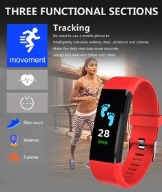 Smart Watch Men Women Heart Rate Monitor Blood Pressure Fitness Tracker Smartwatch Sport Watch Design Concept for ios android +BOX Fitness Tracker, Fitness Goals, Fitness Quotes, Fitness Life, Android Box, Android Watch, Android Phones, Smartwatch, Sport Watches