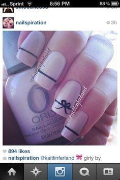 pinterest fingernails designs   Via iara santana