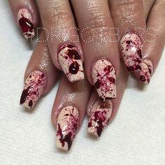 Halloween coffin nails @KortenStEiN