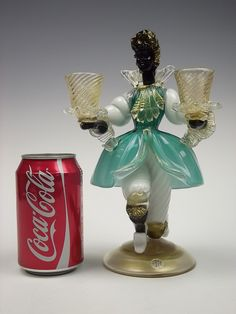 Murano blackamoor figure glass candlestick | Flickr - Photo Sharing!
