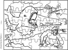 Jonah And The Great Fish Puzzle (Activity Sheet) Activity sheets are a great way to end a Sunday School lesson. They can serve as a great take home activity. Or sometimes you just need to fill in t...