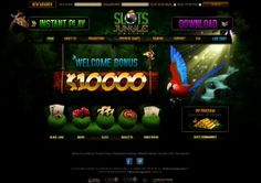Slots Jungle is USA Friendly Casino, powered by RTG software, licensed in the Curacao. Slots Jungle will match each of your first four deposits by 250% up to $2,500 for a grand total of $10,000.