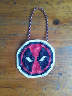 ON SALE Deadpool Christmas Ornament by CrazyLilyDesigns on Etsy ...