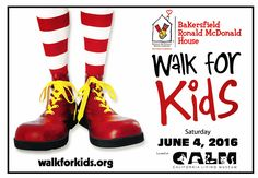 Proud supporter of the #WalkforKids benefiting the #Bakersfield Ronald McDonald House. Chain | Cohn | Stiles and many others throughout #KernCounty on Saturday. Sign up at walkforkids.org.