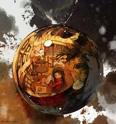 noël Dessin Demizu Pozuka mangaka The Promised Neverland. Fantasy Inspiration, Character Design Inspiration, Fantasy Kunst, Fantasy Art, Fan Art, Science Fiction Art, Art Studies, Neverland, Cool Artwork
