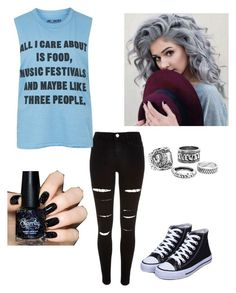 """""""all I care about"""" by britill ❤ liked on Polyvore featuring River Island and Topshop"""