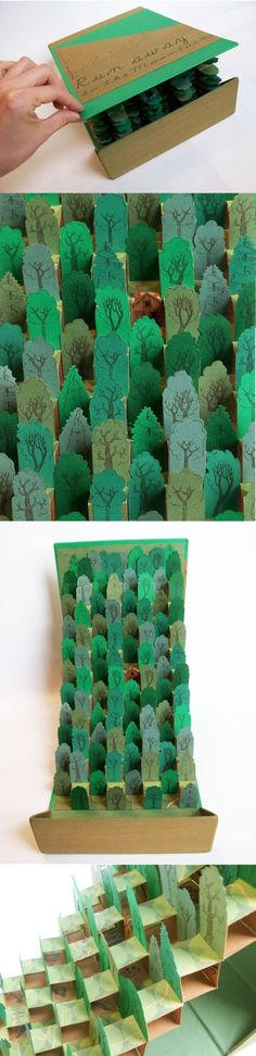 Jacy Nordmeyer's Pop-up Book - this would be a great diorama kind of book report project Pop Up, Kirigami, Paper Art, Paper Crafts, Chair Drawing, Book Sculpture, Chair Makeover, Book Projects, Diy Chair