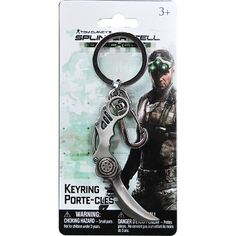Splintercell keychain Personalized Items, Games, Gaming, Toys, Game, Spelling