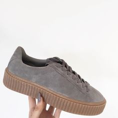 Public Desire - http://www.publicdesire.com/yinka-creepers-in-grey-faux-suede-and-gum-sole
