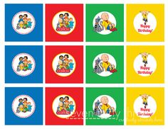 Caillou party FREE printables. They are really lovely! I HIGHLY recommend them.