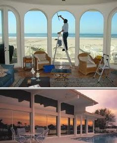 Choose Beach Cities Window Pro if you need professionals who have been offering window cleaning services for over 25 years. They also perform construction cleanup as well as window tinting and more.