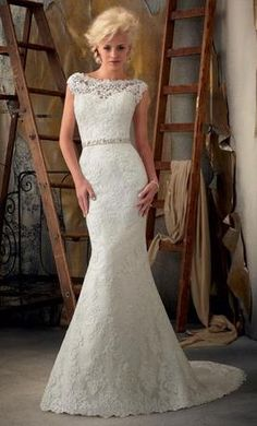 BEST SELLER at Jenni's Bridal! Beautiful Mori Lee bridal gown for an Awesome price!