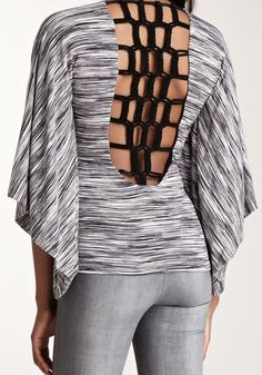 Sky Braided Back Top
