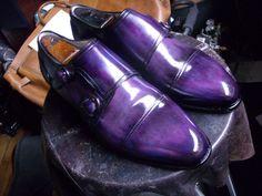 Paulus Bolten Patina'd Double Monks  http://www.theshoesnobblog.com/2013/07/the-shoe-snob-jr-has-arrived-plus-some.html
