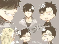 Gangsta Gangsta Anime, Twilight, Fun Facts, Fantasy, Manga, Drawings, Fictional Characters, Brown, Manga Anime