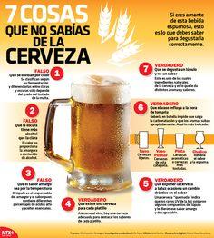 #SabíasQue es falso que la cerveza oscura tiene más alcohol que la clara.Checa 7 datos interesantes sobre esta bebida espumosa.#InfografíaNotimex