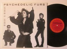 Vinyl Record Psychedelic Furs Midnight To by RecordStoreGirl