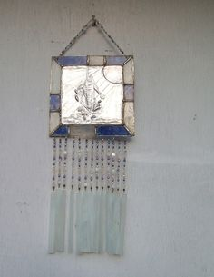 stain glass wind chime. $75.00, via Etsy.
