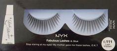 NYX Fabulous Lashes & Glue, EL 111 Lash Implant