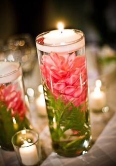 Pink Ginger Centerpieces...BEAUTIFUL!
