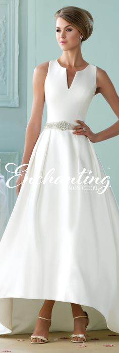 Enchanting by Mon Cheri - The Premiere Collection ~Style No. 215101 #highlowweddingdress