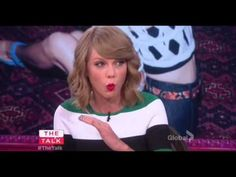 Out of the Woods at 27:00 ish The Talk Taylor Swift - YouTube