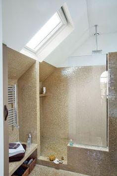 salle de bains sous les combles bathrooms pinterest kid bathrooms future house and. Black Bedroom Furniture Sets. Home Design Ideas