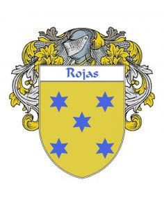Rojas Coat of Arms - Spanish Coat of Arms | Spanish Coat of Arms