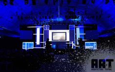 Rear and Front projection screens. Rent & Sale. | Theatre Architecture