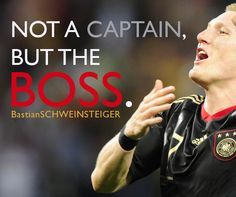 Now a Captain, Still a Boss.