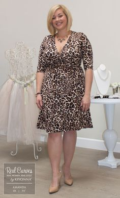 Real Curves for Essential Wrap Dress