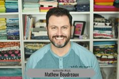 On this episode of the While She Naps podcast we're talking about building a career in the sewing industry with my guest, Mathew Boudreaux. Mathew Boudreaux of Mister Domestic learned to sew as a kid, but never really got into it until he had his daughter Helena, who is now four and a half. He...Read More »