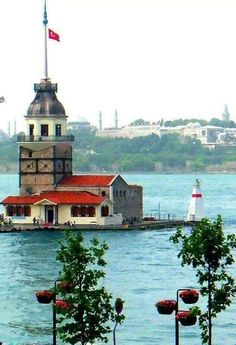 Maiden's Tower, Istanbul. Wonderful Places, Beautiful Places, Turkey Holidays, Turkey Photos, Turkish Art, Turkey Travel, City Landscape, Landscape Pictures, Istanbul Turkey