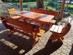 Erfurt - 160 fa kerti bútor szett Wooden Furniture, Furniture Design, Outdoor Furniture, Outdoor Decor, Picnic Table, Fa, Google, Photos, Home Decor